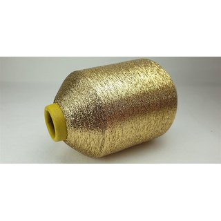 500 g Metallgarn PhiloTeXX MX 1/69 gold Nm 83   68 % Polyester/32% Polyamid